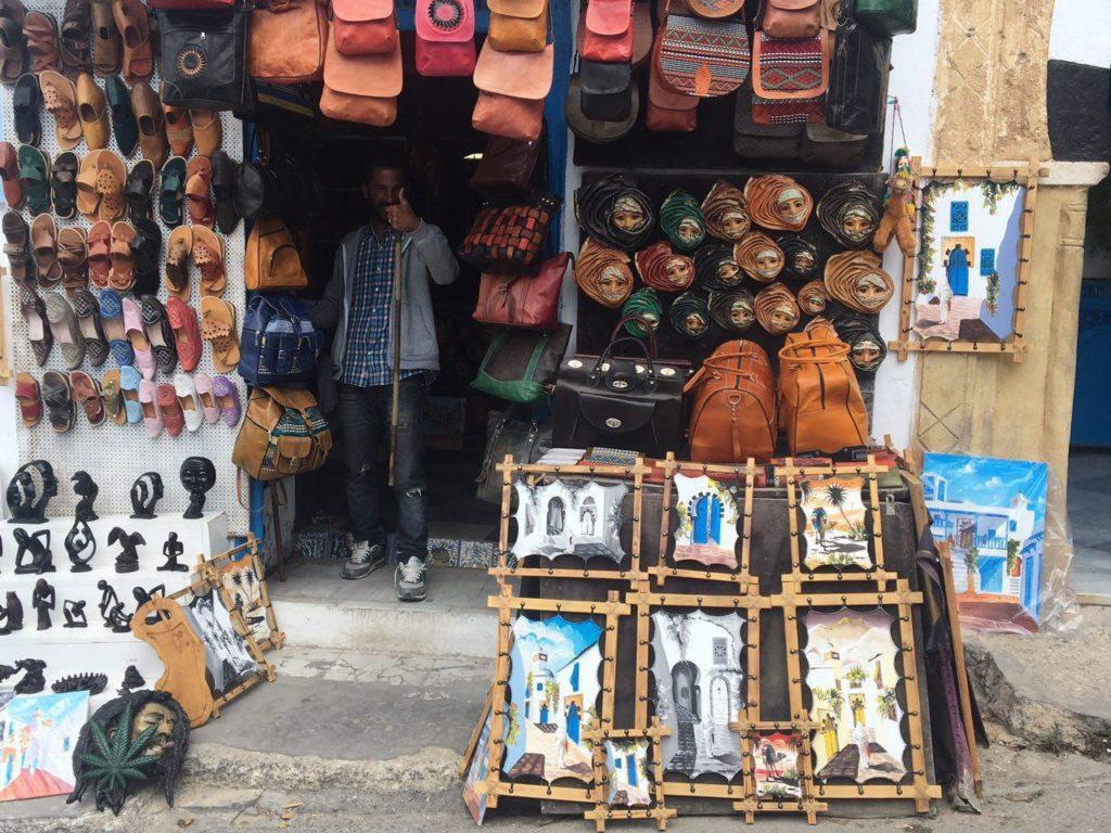 торговая лавка Тунис