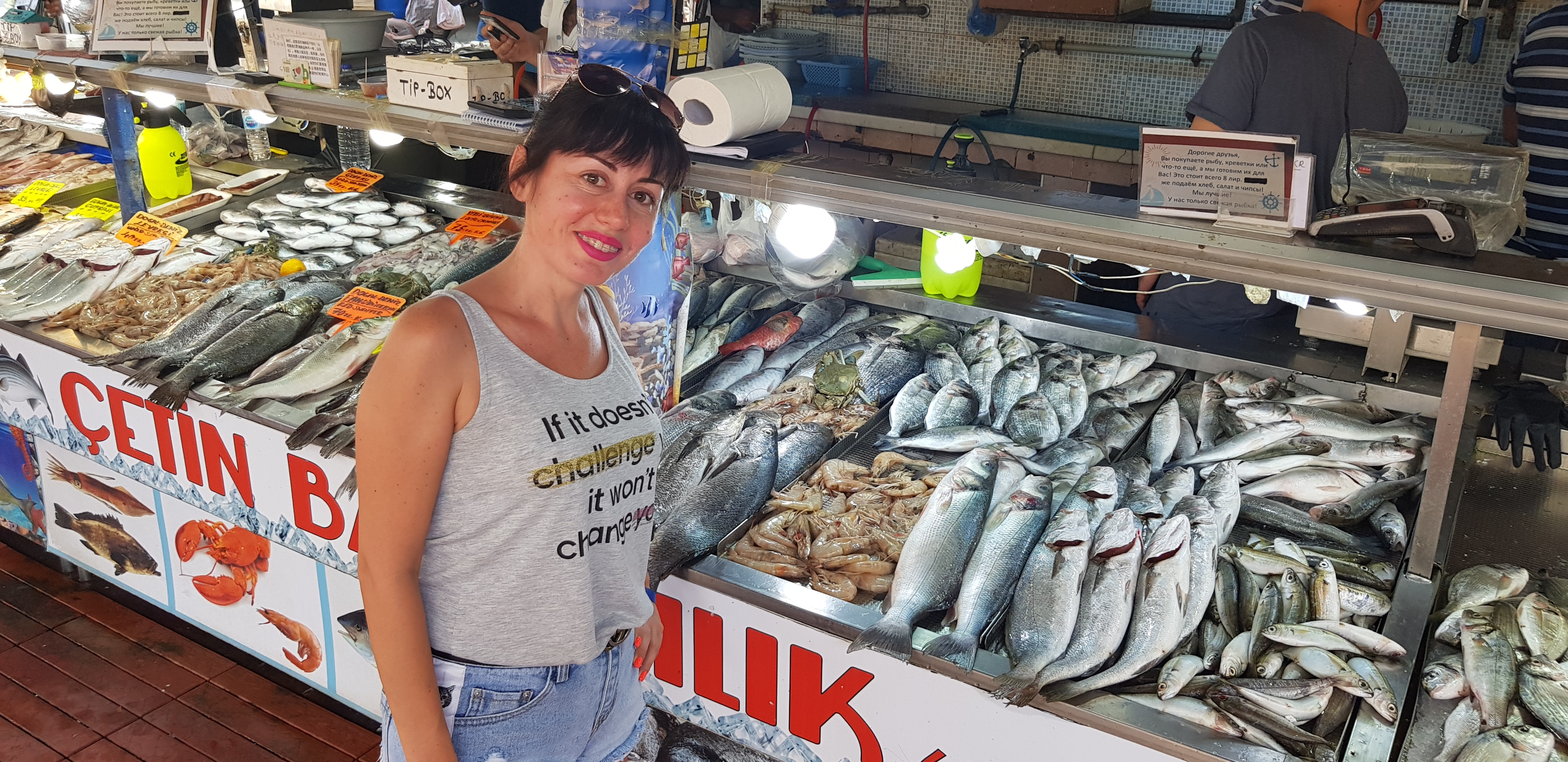 Рыбный рынок Фетхие