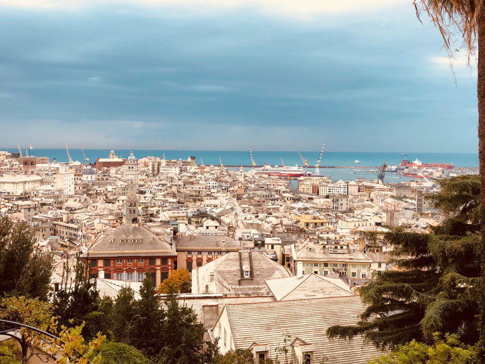 панорама Генуя Италия